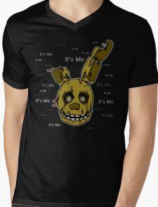Five Nights at Freddy's - FNAF 3 - Springtrap - It's Me Mens V-Neck T-Shirt