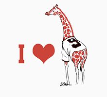 I ♥ Belt Giraffe T-Shirt