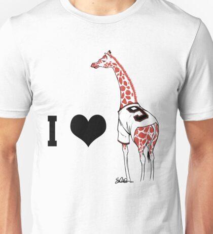 I ♥ Belt Giraffe (Version 2) Unisex T-Shirt