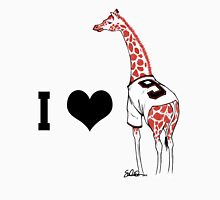 I ♥ Belt Giraffe (Version 2) Unisex T-Shirt
