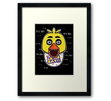 Five Nights at Freddy's - FNAF - Chica - It's Me Framed Print