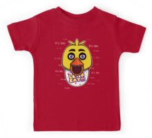 Five Nights at Freddy's - FNAF - Chica - It's Me Kids Tee