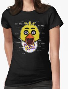 Five Nights at Freddy's - FNAF - Chica - It's Me Womens Fitted T-Shirt