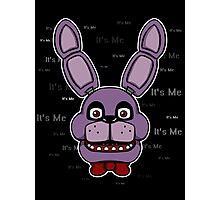 Five Nights at Freddy's - FNAF - Bonnie - It's Me Photographic Print