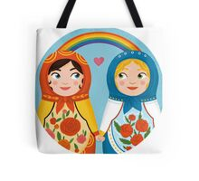 Russian doll brides Tote Bag
