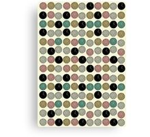 Yarn Ball Pattern Canvas Print