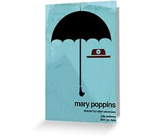 Marry Poppins Greeting Card