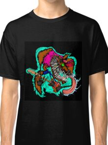 Wolfie the Guitar Shreddin' Wolf Classic T-Shirt