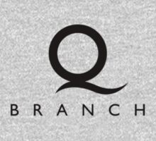 Q Branch Black Logo by Christopher Bunye