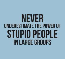 Stupid People In Large Groups by FunniestSayings