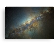 The Milky Way - Reloaded. Canvas Print