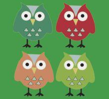 Cute owls Kids Clothes