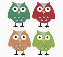 Cute owls Kids Tee