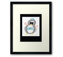 Chill Penguin Framed Print