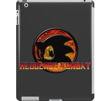 Mortal Hedgehog! MORTAL KOMBAT/SONIC THE HEDGEHOG MASH UP iPad Case/Skin