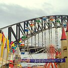 Sydney Harbour Bridge seen from Luna Park by siarlas