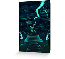 God of Thunder and Rock n' Roll Greeting Card