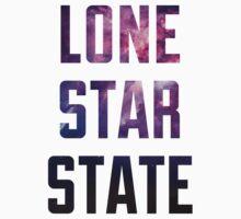 Lone Star State Nebula (purple) Kids Clothes