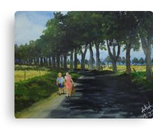After the School Canvas Print