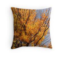 Autumn Fire,  a Prelude to Winter Throw Pillow