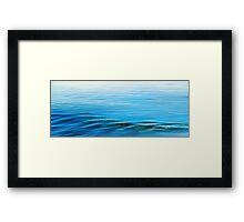 The Small Noises of Calm Framed Print
