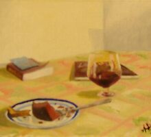 Cake and Wine by Anil Singh