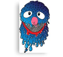 Melty Friend, Grover Canvas Print