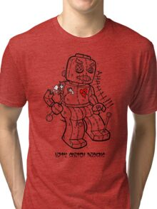 LEGO VOODOO DOLL Tri-blend T-Shirt