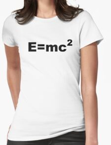 E = MC 2 Womens Fitted T-Shirt