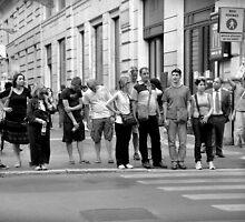 pedestrian crossing by Karen E Camilleri