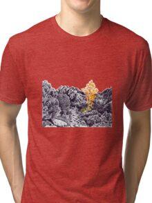 Autumn in Tatra Mountains Tri-blend T-Shirt