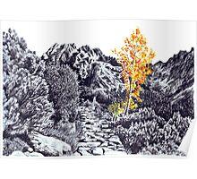 Autumn in Tatra Mountains Poster