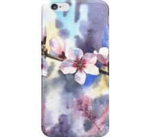 Blossoming almond iPhone Case/Skin