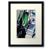 Gothic Green Framed Print