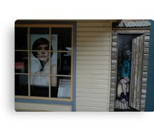 Open & Shut Case, Uralla, Australia 2009 Canvas Print