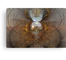 set the walls on fire Canvas Print