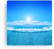 Tropical Sea Canvas Print