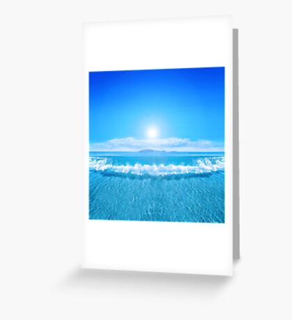 Tropical Sea Greeting Card