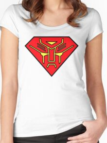 Superbot Women's Fitted Scoop T-Shirt