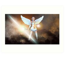 Elven Goddess of the Light Art Print