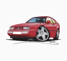 VW Corrado Red One Piece - Short Sleeve