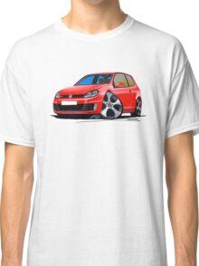 VW Golf GTi (Mk6) Red Classic T-Shirt