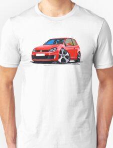 VW Golf GTi (Mk6) Red T-Shirt