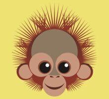 Baby orangutan by tudi