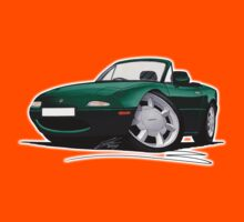 Mazda MX5 (Mk1) British Racing Green Kids Tee