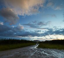 The Hill in the Distance After the Rains by Andy Freer