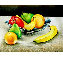 The Fruit Bowl Photographic Print