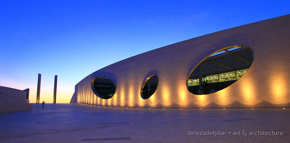 Champalimaud Centre for the Unknown . sunset by terezadelpilar ~ art & architecture