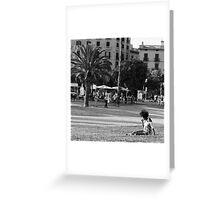 Lost in thoughts Greeting Card