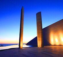 Champalimaud Centre .... sunset by terezadelpilar~ art & architecture